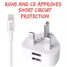 Genuine CORE  Cable for iphone 5,5s,6,6s,7,7s,8, X Lightning to USB Charger -new