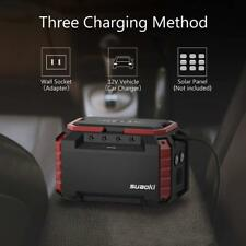 Portable Power Supply Station 150Wh Quiet Gas Free Camping Emergency Generator