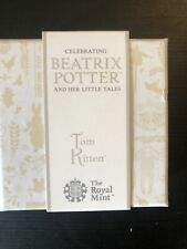 More details for royal mint tom kitten 2017 silver proof 50p coin boxed & coa