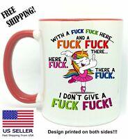 I DON'T GIVE A FUC# FUC#, Coffee/Tea, Funny Gift Mug 11oz