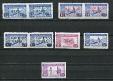 "Spain Poster Stamp pair Overprint ""HABILITADO PARA"" +single MNH 3679"