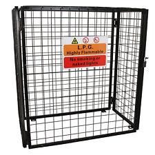 Gas Bottle Collapsible Cylinder Bottle Storage Galvanised Steel Mesh Cage 920mm