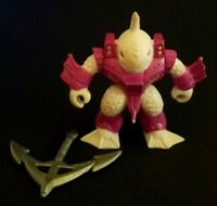 1987 Battle Beast Series 1 Killer Carp #5 Figure by Takara w/ weapon