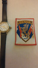 VECCHIA PATCH OLD VINTAGE  SPORT CALCIO FOOTBALL FLAG SKULL ITALIA  GENOA