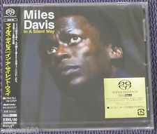 "MILES DAVIS ""IN A SILENT WAY"" JAPAN SACD DSD STEREO MULTI-CH 2002 *SEALED*"