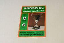 More details for 1981 european cup winners cup final dynamo tbilisi v carl zeiss jena programme (