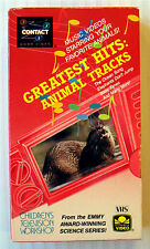 3-2-1 Contact - Greatest Hits: Animal Tracks (VHS, 1989) Children's Movie Show