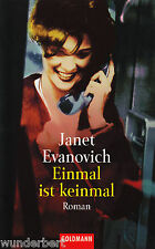 *-  EINMAL ist KEINMAL - Janet EVANOVICH  tb  (1997)