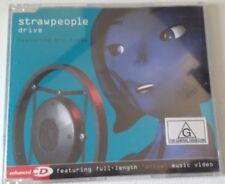 "STRAWPEOPLE Featuring Bic Runga ""Drive"" Rare Aus 2000 4Trk CD *Remixes *Enhanced"