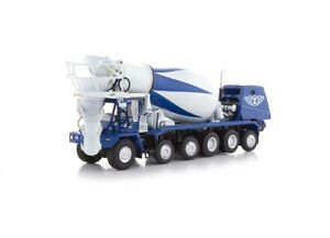 "Oshkosh S-Series Cement Mixer - ""ZIGNEGO"" - 1/50 - TWH #075-01211"