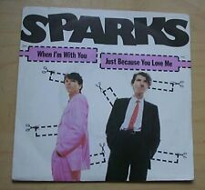 """SPARKS WHEN I'M WITH YOU 7"""" P/S FRENCH"""