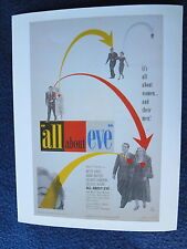 ALL ABOUT EVE Oscar Best Picture 1950 Davis Baxter Sanders Holm Monroe Merrill