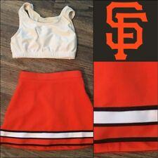 Real Cheerleading Uniform Girls Sz10 Giants