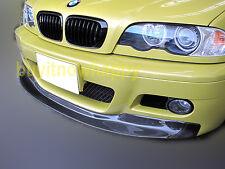For BMW E46 M3 2001-2006 M3 Bumper Model Only CSL Style Carbon Fiber Front Lip