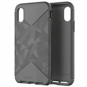 Genuine Tech21 EVO TACTICAL Drop Ultra Thin Case Cover for iPhone X/XS Black NEW