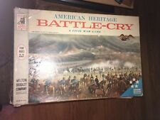 Vintage 1961 American Heritage Battle Cry Civil War Board Game Milton Bradley