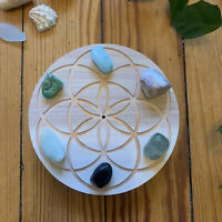 "5.5"" (Small) 3/4"" Thick Natural Crystal Grid 