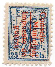 Sello Local Guerra Civil Castellon -Cat. Edifil 14.  ORD:1674