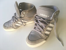 Adidas NEO Raleigh Mid HighTop boys/youth Size 6 Athletic Gray Shoes Org. $64.99