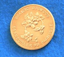 1971 1871 British Colombia Dogwood Medal - Gasoline Advertising Token - See PICS