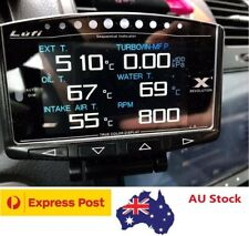 Lufi X1-Defi style OBD2 Boost gauge/multi-gauge/Code scanner/Shift indicator
