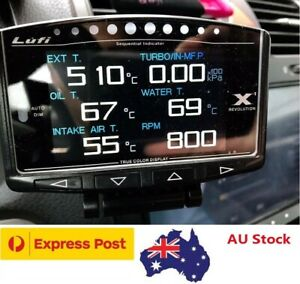 Lufi X1-Defi style OBD2 Boost gauge/multi-gauge/Code scanner/Shift indicator