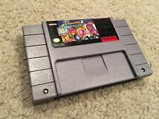 Super Nintendo SNES Bomberman 2 Game Cartridge - 100% Authentic - NICE!