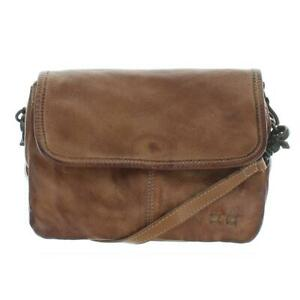 Bed Stu Womens Ziggy Tan Distressed Shoulder Handbag Purse Small BHFO 0554