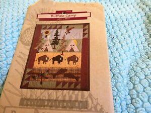 "McKenna Ryan quilt block pattern ""Buffalo Camp"""