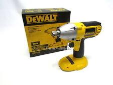 "DeWALT 18V 18 Volt Cordless Impact Driver Wrench 1/2"" Socket Drive DC821 DC821B"