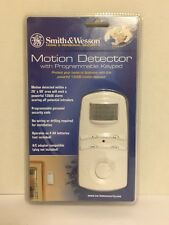 Smith & Wesson Motion Detector with Programmable Keypad NIP Sealed