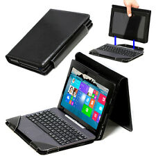 Business Pu Leather Keyboard Case Cover for ASUS Transformer Book T100HA Laptop