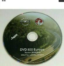 OPEL ORIG.Navigation DVD 800 CD 500!Europa2019!Astra J;Insignia;Meriva B.MY 2011