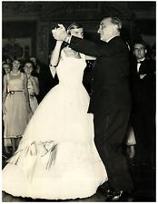 Italia, Anna Merzagora, figlia del Presidente del Senato  Vintage silver print