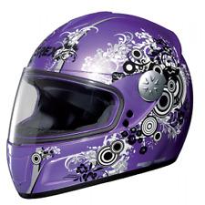 Grex Casco integrale da moto e scooter R2 Nolan Bubbles Pearl Violet XL-  NUOVO