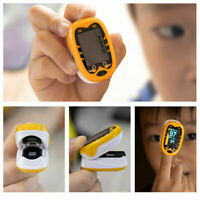 Rechargeable OLED Baby Finger Pulse Oximeter SpO2 PR for Neonatal Children Kids