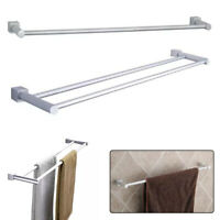 Wall Mounted Towel Bar Rack Towel Bar Shelf Holder For Kitchen Bathroom Hanger