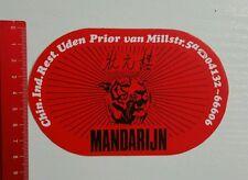Aufkleber/Sticker: Mandarijn Tiger restaurant (080616144)