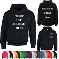 New Personalized Embroidered Hoodie Uneek Clothing Workwear, Custom text or logo