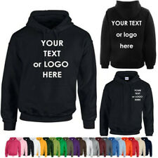 Personalized Embroidered Hoodie Uneek Clothing Workwear Hood Custom text or logo