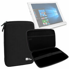 Black Water-Resistant EVA Hard Armoured 'Shell' Case for Alcatel PLUS 10 Tablet