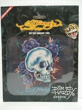 Ed Hardy Vintage Limited Edition Mouse Pad, Tattoo Skull NEW