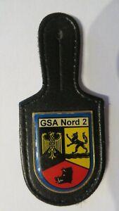 BUNDESGRENZSCHUTZAMT NORD 2 - Polizei BGS Abzeichen Badge BrustAbzeichen BundesP