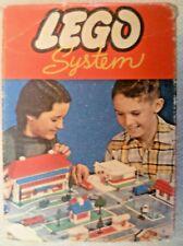 Vintage Lego - System Set #281 21 Blue 1x2 3x2 Sloping Bricks - C1960-1965 #2