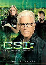CSI: Crime Scene Investigation: The Final Season (DVD, 2015)