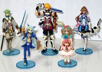 SQUARE-ENIX japan action anime STAR OCEAN -THE LAST HOPE BOX SET 6 boxed figure