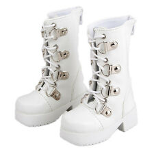 [wamami] 17# White 1/3 SD DZ DOD BJD Dollfie Synthetic Leather Boots/Shoes