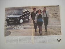 advertising Pubblicità 1985 LANCIA DELTA HF TURBO