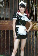 Lackina Lacquer Maid Costume, Maid, Size S- 4 XL