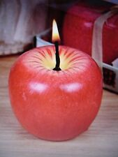 Red Apple Shape Candle Gift Wedding Decoration Valentine's Day Christmas SET(4)